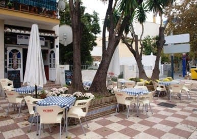 Popular Cafe Bar in Marbella