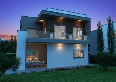 Проект 11-ти уникально спроектированных домов