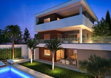 Элитный проект из трех роскошных домов