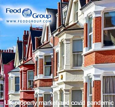 UK property market and covid pandemic